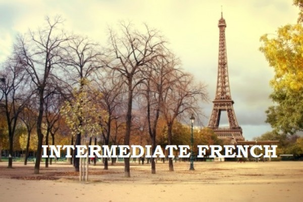 Intermediate French class